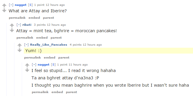 Pancakes are delicious, and that's all my Reddit bot can say